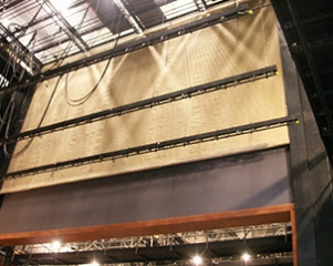 Image of Proscenium Fire Curtains